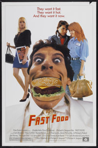 "Fast Food (Fries Entertainment, 1989). One Sheet (27"" X 41""). Comedy"