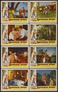 "Movie Posters:Bad Girl, Louisiana Hussy (Howco, 1959). Lobby Card Set of 8 (11"" X 14""). BadGirl.... (Total: 8 Items)"