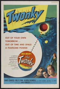 "The Twonky (United Artists, 1953). One Sheet (27"" X 41""). Comedy"