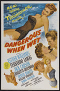"""Movie Posters:Comedy, Dangerous When Wet (MGM, 1953). One Sheet (27"""" X 41""""). Comedy...."""