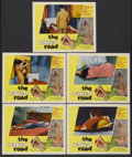 """Movie Posters:Crime, The Naked Road (Zison Enterprises, 1959). Lobby Cards (5) (11"""" X14""""). Crime.... (Total: 5 Items)"""