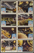 "Movie Posters:Science Fiction, Battle in Outer Space (Columbia, 1960). Lobby Card Set of 8 (11"" X14""). Science Fiction.... (Total: 8 Items)"