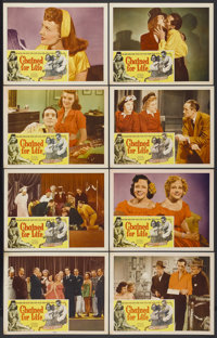 """Chained For Life (Classic Pictures, 1951). Lobby Card Set of 8 (11"""" X 14""""). Cult Classic.... (Total: 8 Items)"""