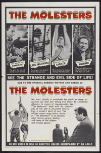 "The Molesters (Aristocrat Films, 1964). One Sheet (27"" X 41""). Crime"
