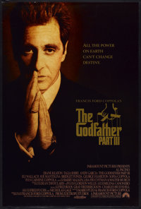 """The Godfather Part III (Paramount, 1990). One Sheet (27"""" X 40""""). Crime"""