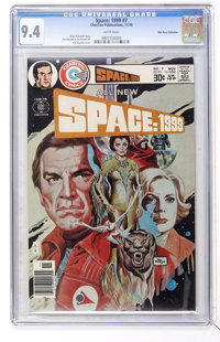 Space: 1999 #7 Don Rosa Collection pedigree (Charlton, 1976) CGC NM 9.4 White pages
