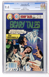 Scary Tales #22 Don Rosa Collection pedigree (Charlton, 1980) CGC NM 9.4 White pages