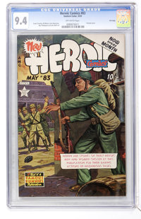 Heroic Comics #83 File Copy (Eastern Color, 1953) CGC NM 9.4 Off-white pages