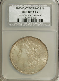 1900-O/CC $1 --Improperly Cleaned--NCS. UNC Details. A Top 100 Variety. NGC Census: (8/1725). PCGS Population (25/4362)...