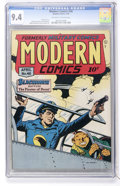 Golden Age (1938-1955):War, Modern Comics #48 (Quality, 1946) CGC NM 9.4 Off-white to whitepages....