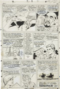 Original Comic Art:Panel Pages, Dick Ayers and Vince Colletta - Ghost Rider #1 page 20 Original Art(Marvel, 1967)....