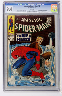 The Amazing Spider-Man #52 (Marvel, 1967) CGC NM 9.4 White pages