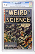 Golden Age (1938-1955):Science Fiction, Weird Science #20 (EC, 1953) CGC VF- 7.5 Cream to off-whitepages....