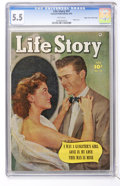 Golden Age (1938-1955):Romance, Life Story V5#27 Mile High pedigree (Fawcett, 1951) CGC FN- 5.5White pages....