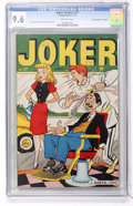 """Golden Age (1938-1955):Humor, Joker Comics #27 Davis Crippen (""""D"""" Copy) pedigree (Timely, 1947) CGC NM+ 9.6 Off-white pages...."""