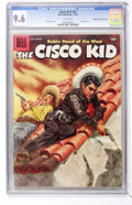 Silver Age (1956-1969):Western, The Cisco Kid #34 Mile High pedigree (Dell, 1957) CGC NM+ 9.6 Whitepages....