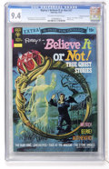 Bronze Age (1970-1979):Horror, Ripley's Believe It Or Not #37 Don Rosa Collection pedigree (GoldKey, 1972) CGC NM 9.4 Off-white to white pages....
