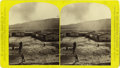 Military & Patriotic:Indian Wars, Stereoview of Fort Claggert, Montana Territory by F. Jay Haynes ca 1870s -...