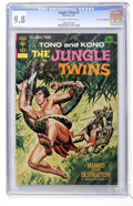 Bronze Age (1970-1979):Adventure, The Jungle Twins #2 Don Rosa Collection pedigree (Gold Key/Whitman, 1972) CGC NM/MT 9.8 Off-white to white pages....