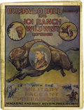 Western Expansion:Cowboy, Buffalo Bill (himself) and 101 Ranch Wild West Combined Program1916 - ...