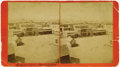 Photography:Stereo Cards, 1883 Stereocard Image of Albuquerque. ...