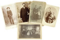 Photography:Cabinet Photos, Lot of Five Miscellaneous People photographs ca 1890s - ... (Total:5 Items)