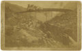 Photography:Cabinet Photos, Georgetown Loop Railroad Cabinet Card, circa 1895. ...