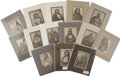 Western Expansion:Indian Artifacts, Lot of 14 Will Soule Re-Prints of Native American Indians - ...(Total: 14 Items)