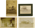 Photography:Cabinet Photos, Four 1880-90s Business Photographs. ... (Total: 4 Items)