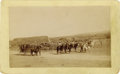 Photography:Cabinet Photos, Cabinet Card Photograph of Cattle Pens, circa 1880s. ...