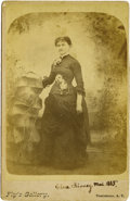 Photography:Cabinet Photos, Clara Kinney of Tombstone, by C.S. Fly. ...