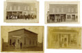 Photography:Cabinet Photos, Four Images of Early Midwest Businesses. ... (Total: 4 Items)