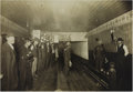 Photography:Cabinet Photos, Early American Bowling Alley ca 1890s-1900s - ...