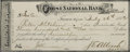 Western Expansion:Cowboy, Framed Check to Pete Kitchen Tucson, Arizona Territory 1882 - ...