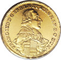 German States:Wurzburg, German States: Wurzburg. Franz Ludwig 2 Goldgulden 1786, Friedberg3735, MS63 PCGS, meticulously sharp details and sparkling surfaces,rare...