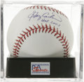 "Autographs:Baseballs, Gary Carter ""HOF 2003"" Single Signed Baseball, PSA Gem Mint 10.Kid's unimprovable sweet spot signature and ""HOF 2003"" insc..."