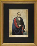 Political:Small Paper (pre-1896), Henry Clay: Rare and Unusual Campaign Print,...