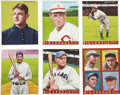 Baseball Collectibles:Others, 2007 Helmar Brewing Company Original Hand Painted Art Lot of 6. TheHelmar Brewing Company approaches their product with a d...