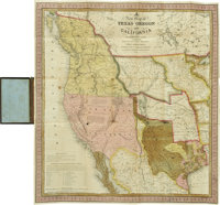 S[amuel] Augustus Mitchell. Accompaniment to Mitchell's New Map of Texas, Oregon, and California, With the Regi