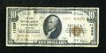 National Bank Notes:Colorado, Longmont, CO - $10 1929 Ty. 2 FNB of Longmont Ch. # 11253. ...