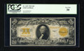 Large Size:Gold Certificates, Fr. 1187 $20 1922 Gold Certificate PCGS Very Fine 30....