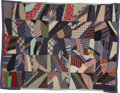 Political:Textile Display (1896-present), Civilian Conservation Corps: Handmade Quilt...
