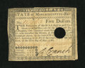 Colonial Notes:Massachusetts, Massachusetts May 5, 1780 $5 Very Fine, HOC....