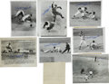 Autographs:Photos, Phil Rizzuto Signed News Service Photographs Lot of 14. For thebetter part of the 1940s and 1950s, the amazing shortstop S...