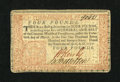 Colonial Notes:Pennsylvania, Pennsylvania April 10, 1777 £4 Choice About New....