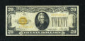Small Size:Gold Certificates, Fr. 2402 $20 1928 Gold Certificate. Fine.. ...