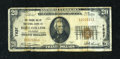 National Bank Notes:Colorado, Fort Collins, CO - $20 1929 Ty. 1 The Poudre Valley NB Ch. # 7837....