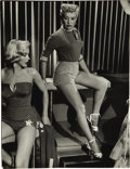 Movie/TV Memorabilia:Photos, Marilyn Monroe and Betty Grable How to Marry a MillionairePhoto by Jean Howard. ...