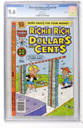 Bronze Age (1970-1979):Cartoon Character, Richie Rich Dollars and Cents #92 File Copy (Harvey, 1979) CGC NM+9.6 White pages....