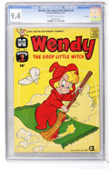 Silver Age (1956-1969):Cartoon Character, Wendy, the Good Little Witch #6 File Copy (Harvey, 1961) CGC NM 9.4 Off-white to white pages....